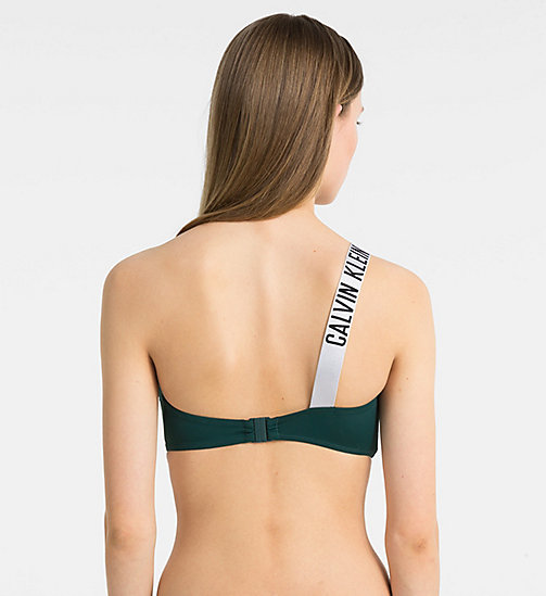 CALVINKLEIN Bandeau Bikini Top - Intense Power - PONDAROSA PINE - CALVIN KLEIN NEW FOR WOMEN - detail image 1
