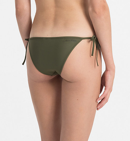 CALVINKLEIN Низ бикини - Core Neo - OLIVE NIGHT - CALVIN KLEIN БИКИНИ - подробное изображение 1