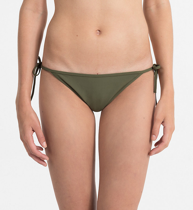 Outlet Store Tie Side Bikini Bottom - Core Neo Calvin Klein Many Kinds Of Affordable For Sale FaRGtwdk8G