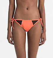 CALVINKLEIN Bikinihose zum Binden - Intense Power - HOT CORAL -  BADEMODE - main image