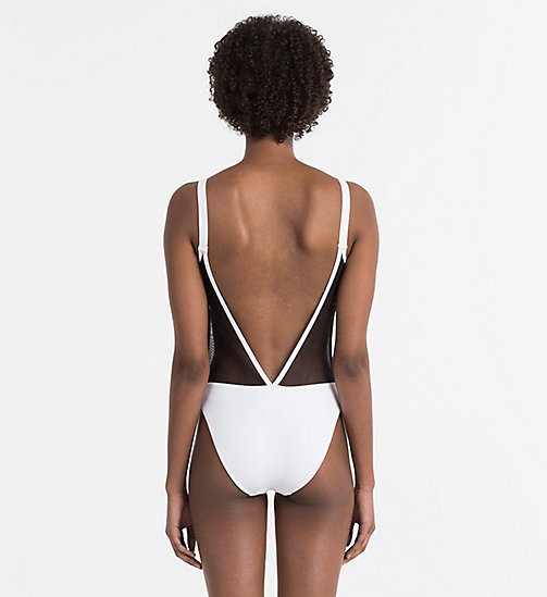 CALVINKLEIN Swimsuit - Intense Power - PVH WHITE - CALVIN KLEIN NEW IN - detail image 1