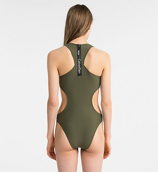 CALVINKLEIN Swimsuit - Core Neo - OLIVE NIGHT - CALVIN KLEIN SWIMSUITS - detail image 1