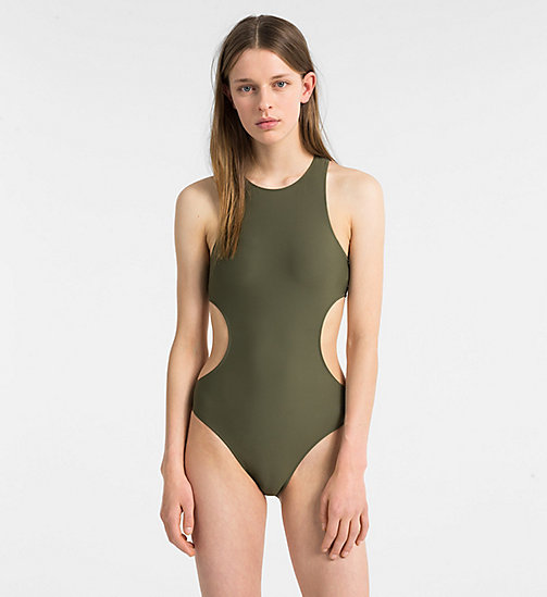 CALVINKLEIN Swimsuit - Core Neo - OLIVE NIGHT - CALVIN KLEIN SWIMSUITS - main image