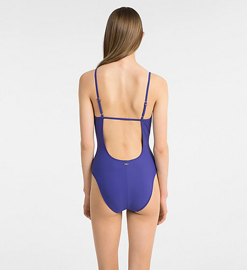 CALVINKLEIN Swimsuit - Core Solids - SPECTRUM BLUE - CALVIN KLEIN SWIMWEAR - detail image 1