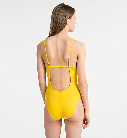 CALVINKLEIN Swimsuit - Core Solids - GOLD FUSION - CALVIN KLEIN SWIMSUITS - detail image 1