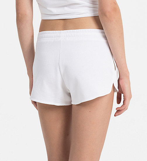 CALVINKLEIN Logo Shorts - CK NYC - PVH WHITE - CALVIN KLEIN NEW IN - detail image 1