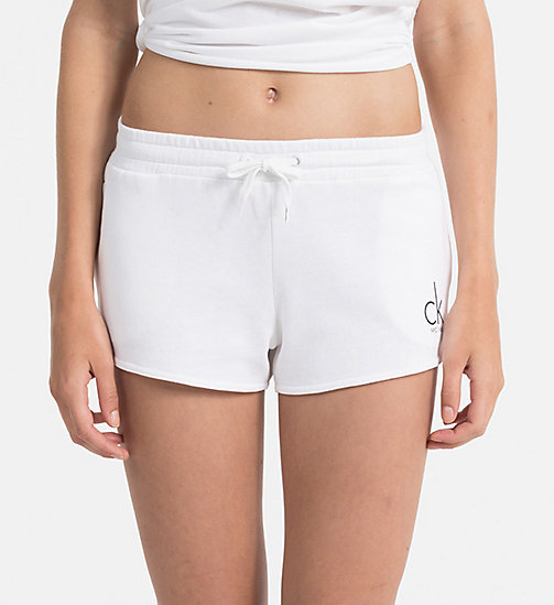 CALVINKLEIN Logo Shorts - CK NYC - PVH WHITE - CALVIN KLEIN NEW IN - main image
