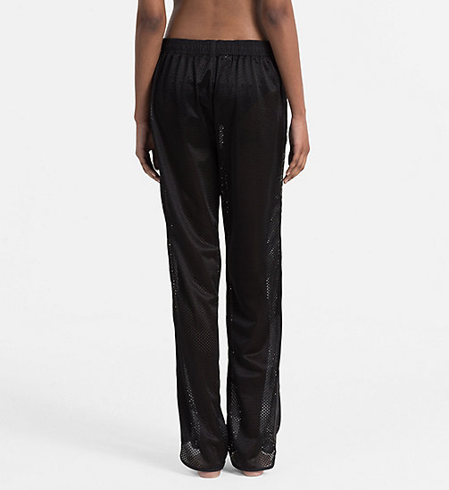 CALVINKLEIN Mesh Sweatpants - Intense Power - PVH BLACK - CALVIN KLEIN NEW ARRIVALS - detail image 1