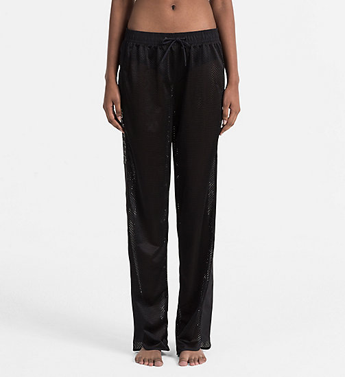 CALVINKLEIN Mesh Jogging Pants - Intense Power - PVH BLACK - CALVIN KLEIN BEACHWEAR - main image