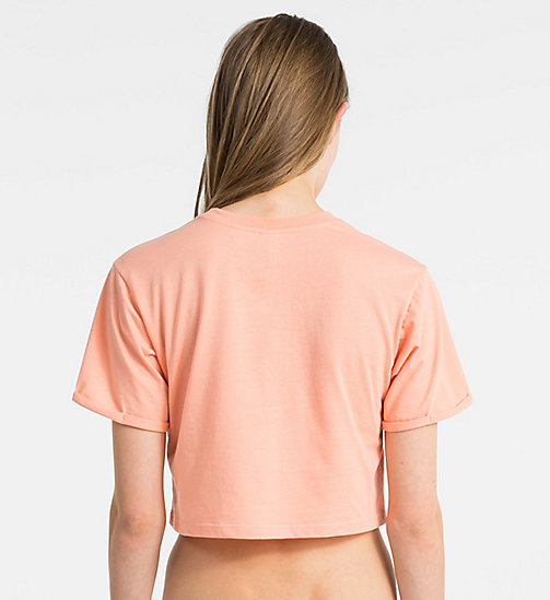 CALVINKLEIN Logo T-Shirt - Core Neo - SOFT PINK - CALVIN KLEIN NEW ARRIVALS - detail image 1