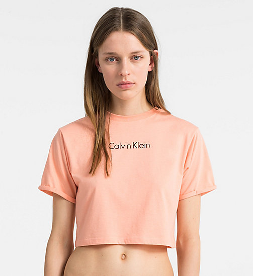 CALVINKLEIN Logo T-Shirt - Core Neo - SOFT PINK - CALVIN KLEIN NEW ARRIVALS - main image