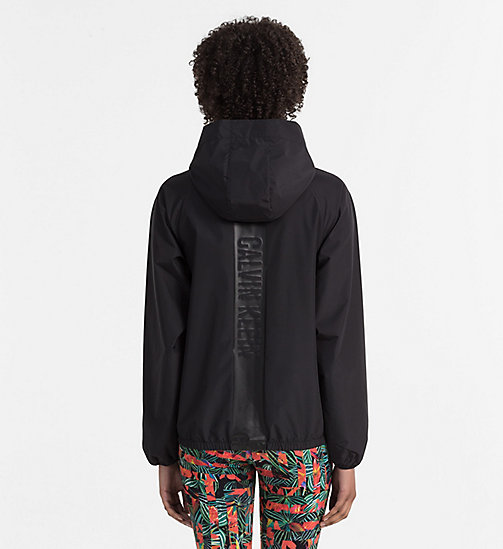 CALVINKLEIN Windbreaker - Intense Power - PVH BLACK - CALVIN KLEIN BEACHWEAR - detail image 1