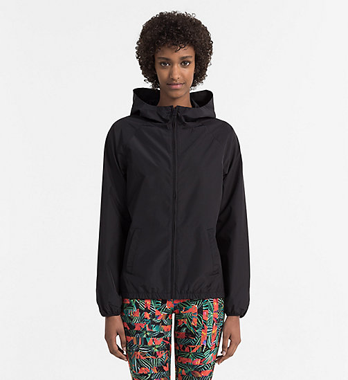 CALVINKLEIN Windbreaker - Intense Power - PVH BLACK - CALVIN KLEIN BEACHWEAR - main image