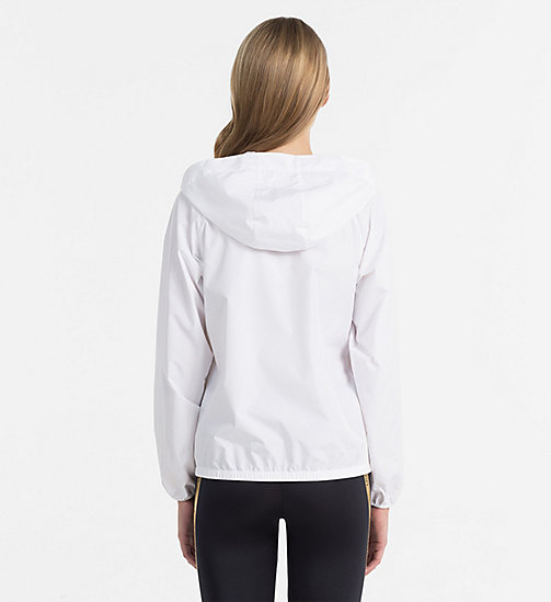 CALVINKLEIN Windbreaker - Core Beach Active - PVH WHITE - CALVIN KLEIN BEACHWEAR - detail image 1