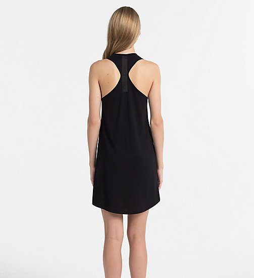 CALVINKLEIN Tank Dress - Core Neo - PVH BLACK - CALVIN KLEIN BEACHWEAR - detail image 1