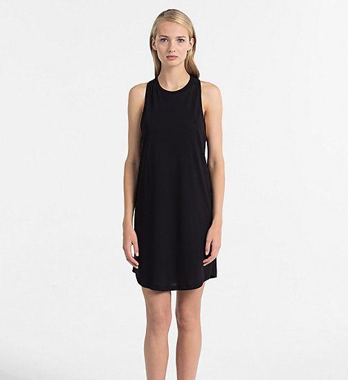 CALVINKLEIN Tank Dress - Core Neo - PVH BLACK - CALVIN KLEIN BEACHWEAR - main image