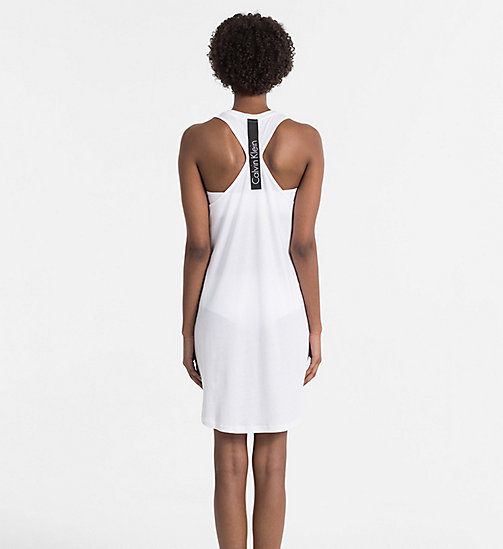 CALVINKLEIN Tank Dress - Core Neo - PVH WHITE - CALVIN KLEIN BEACHWEAR - detail image 1