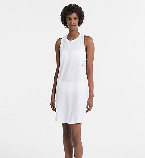 CALVINKLEIN Tank Dress - Core Neo - PVH WHITE - CALVIN KLEIN SWIMWEAR - main image
