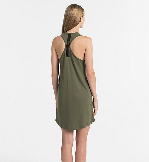 CALVINKLEIN Tank Dress - Core Neo - OLIVE NIGHT - CALVIN KLEIN BEACHWEAR - detail image 1