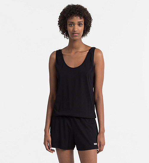 CALVINKLEIN Jumpsuit - Intense Power - PVH BLACK - CALVIN KLEIN BEACHWEAR - main image