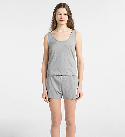 CALVINKLEIN Jumpsuit - Intense Power - GREY HEATHER - CALVIN KLEIN NEW IN - main image
