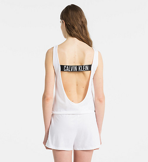 CALVINKLEIN Jumpsuit - Intense Power - PVH WHITE - CALVIN KLEIN NEW IN - detail image 1