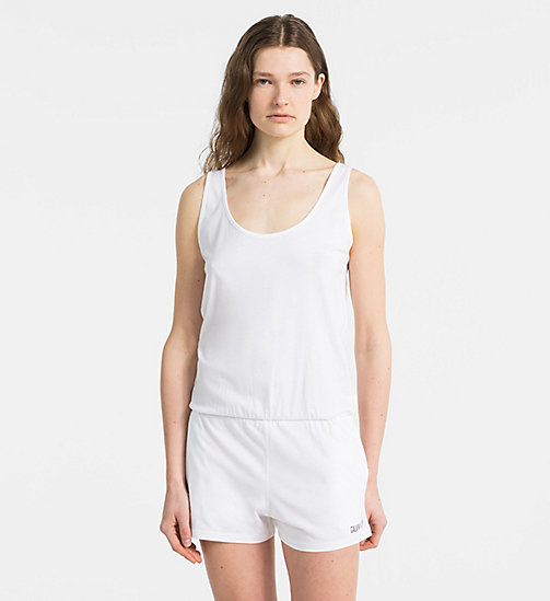 CALVINKLEIN Jumpsuit - Intense Power - PVH WHITE - CALVIN KLEIN NEW IN - main image