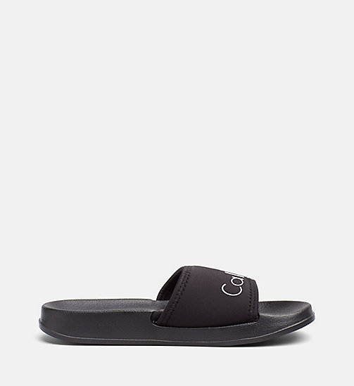 CALVINKLEIN Slippers - Core Neo - BLACK - CALVIN KLEIN SLIPPERS - detail image 1