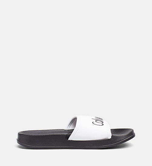 CALVINKLEIN Sliders - Core Neo - WHITE - CALVIN KLEIN SLIDERS - detail image 1