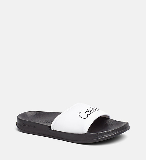CALVINKLEIN Sliders - Core Neo - WHITE - CALVIN KLEIN SLIDERS - main image