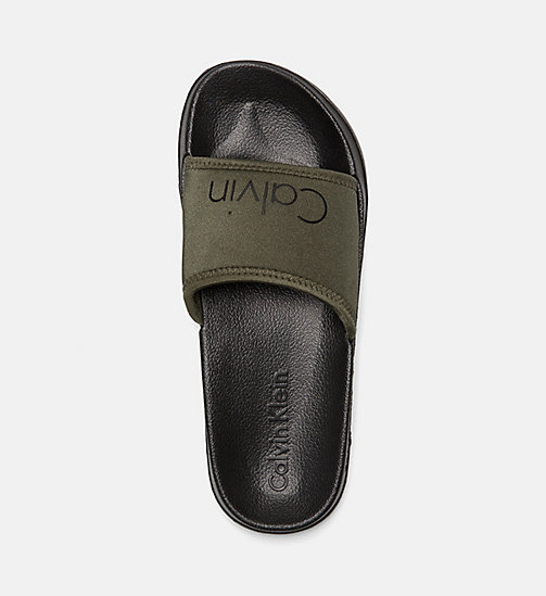 CALVINKLEIN Sliders - Core Neo - OLIVE NIGHT - CALVIN KLEIN SLIDERS - detail image 1