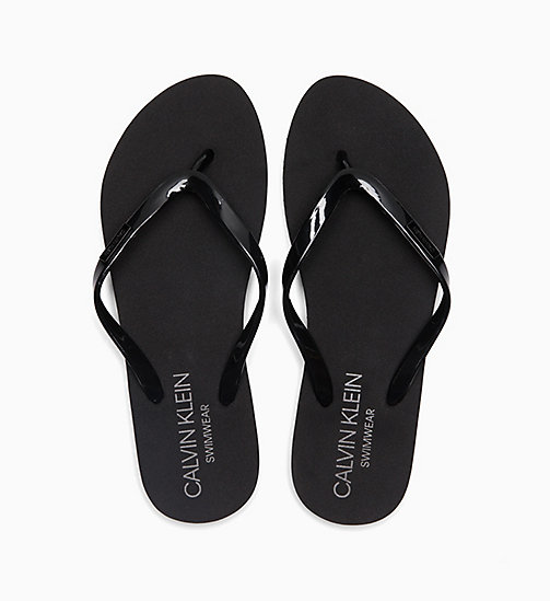 CALVINKLEIN Sliders - BLACK - CALVIN KLEIN SLIPPERS - main image