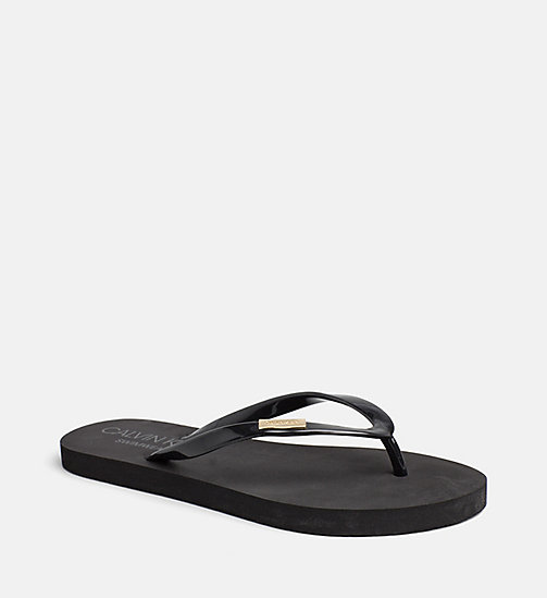 CALVINKLEIN Sliders - PVH BLACK -  SWIMWEAR - detail image 1