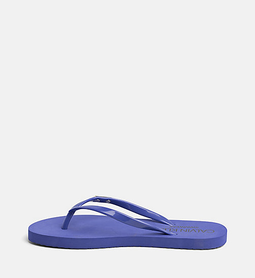 CALVIN KLEIN Sliders - SPECTRUM BLUE - CALVIN KLEIN SWIMWEAR - detail image 1