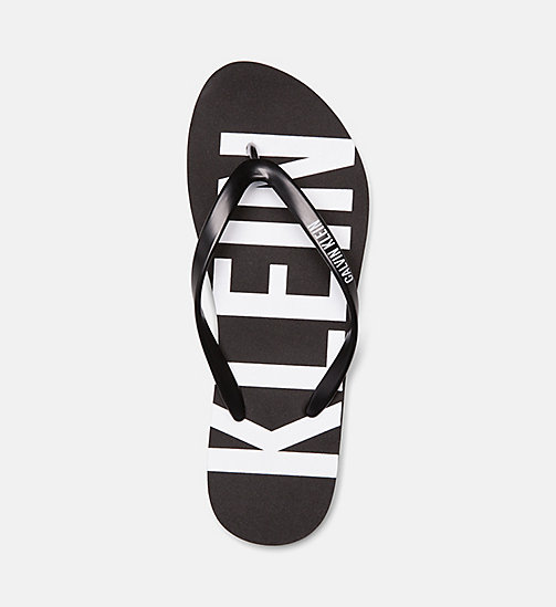 CALVINKLEIN Flip Flops - Intense Power - BLACK - CALVIN KLEIN NEW IN - detail image 1