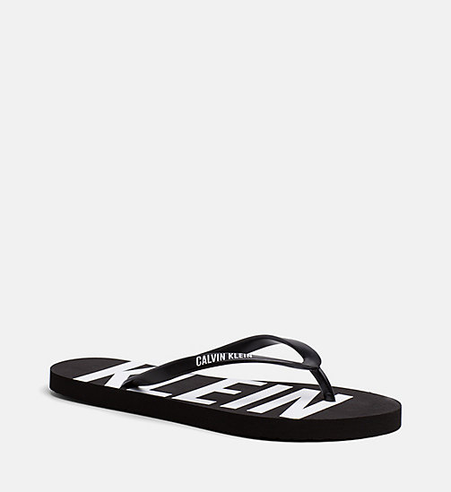 CALVINKLEIN Flip Flops - Intense Power - BLACK - CALVIN KLEIN NEW IN - main image
