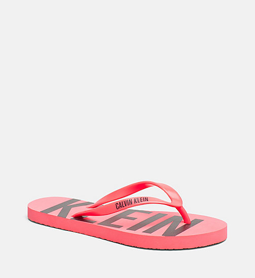 CALVINKLEIN Slippers - Intense Power - DIVA PINK - CALVIN KLEIN NEW IN - main image