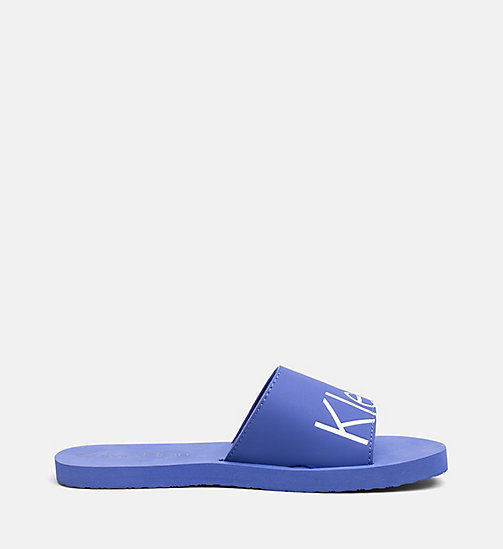 CALVINKLEIN Slippers - CK NYC - ULTRAMARINE BLUE - CALVIN KLEIN NEW IN - detail image 1