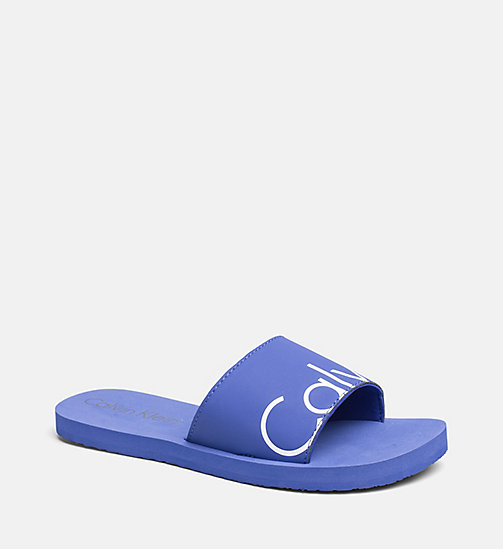 CALVINKLEIN Sliders - CK NYC - ULTRAMARINE BLUE - CALVIN KLEIN SLIDERS - main image