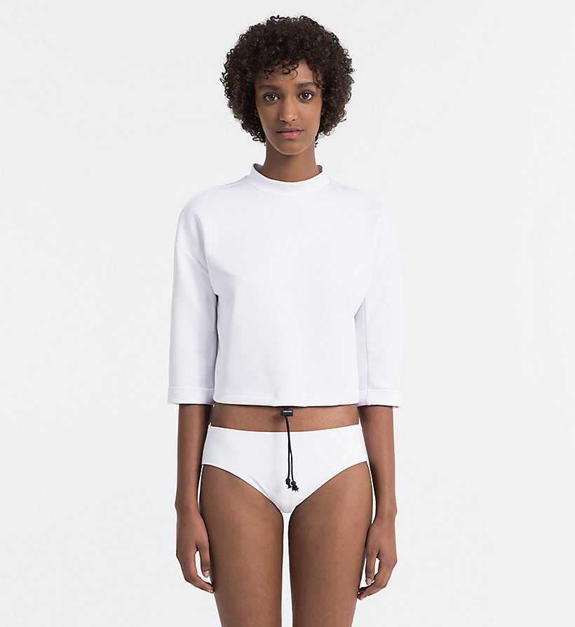 CALVINKLEIN Sweat-shirt court - Core Neo - PVH BLACK - CALVIN KLEIN SOUS-VÊTEMENTS - image principale