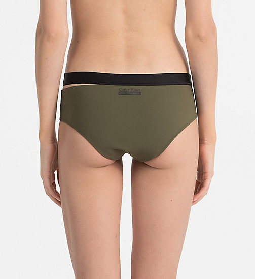 CALVINKLEIN Hipster Bikini Bottom - Cutting Edge Calvin - OLIVE NIGHT -  NEW IN - detail image 1