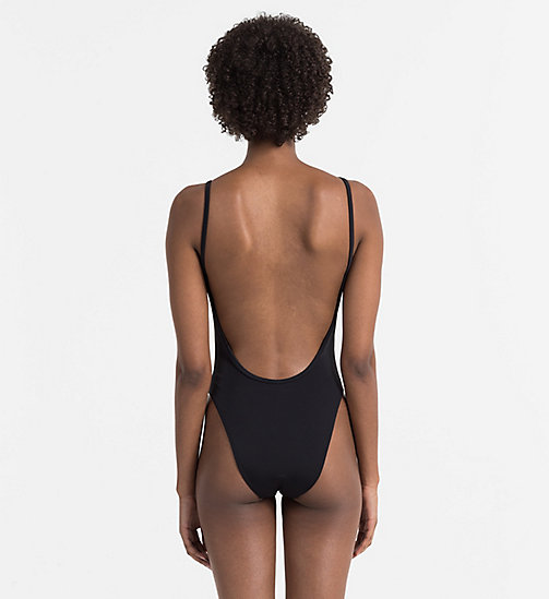CALVINKLEIN Swimsuit - NOS Logotape - PVH BLACK -  SWIMSUITS - detail image 1