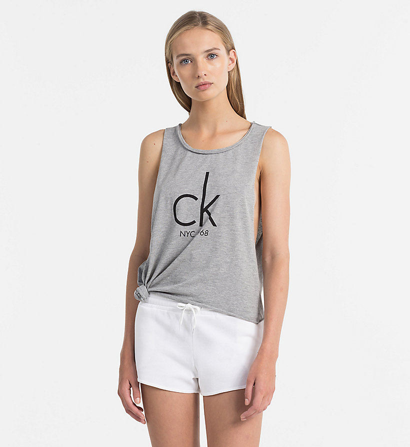 logo tanktop ck nyc calvin klein kw0kw00455001. Black Bedroom Furniture Sets. Home Design Ideas