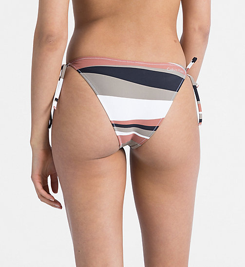 CALVINKLEIN Tie Side Bikini Bottom - Core Neo - DESERT PRINT - CALVIN KLEIN NEW FOR WOMEN - detail image 1