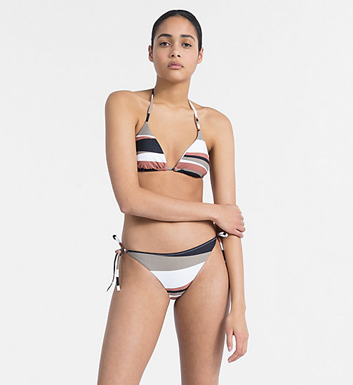 CALVIN KLEIN Tie Side Bikini Bottom - Core Neo - DESERT PRINT - CALVIN KLEIN NEW FOR WOMEN - detail image 1