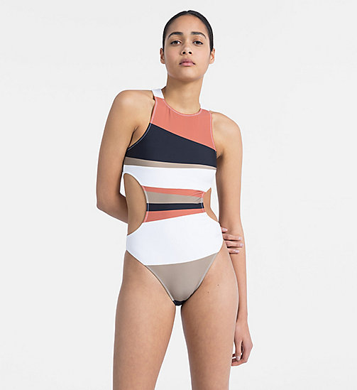 CALVINKLEIN Swimsuit - Core Neo - DESERT PRINT - CALVIN KLEIN NEW FOR WOMEN - main image