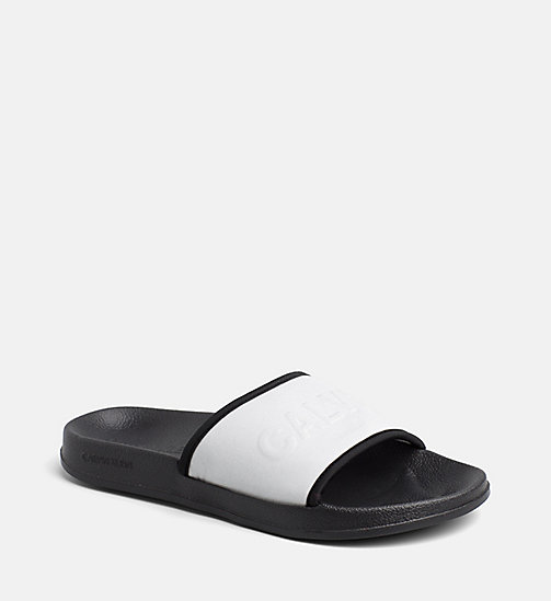 CALVINKLEIN Sliders - SILVER - CALVIN KLEIN NEW FOR WOMEN - detail image 1