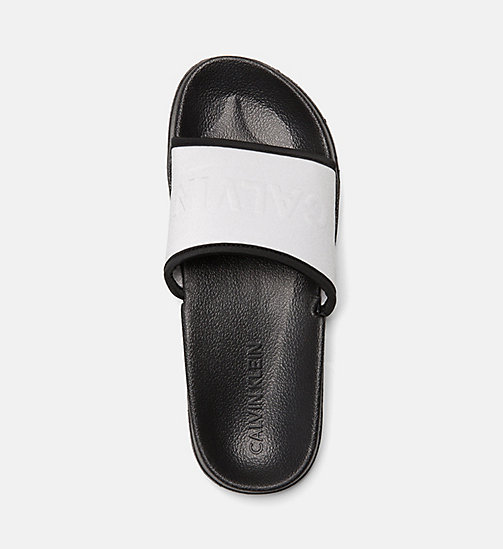 CALVIN KLEIN Sliders - SILVER - CALVIN KLEIN NEW IN - main image