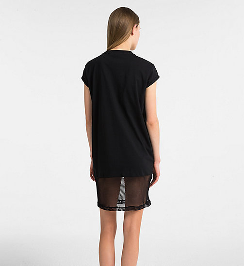 CALVIN KLEIN Beach Dress - BLACK - CALVIN KLEIN NEW FOR WOMEN - detail image 1
