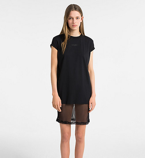 CALVIN KLEIN Beach Dress - BLACK - CALVIN KLEIN NEW IN - main image
